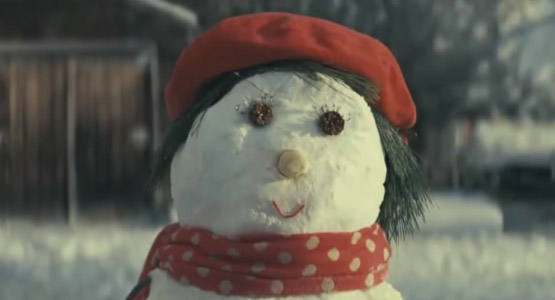 Snowmen love story